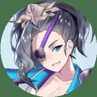 「放置少女」夏侯惇(SSR)・丸